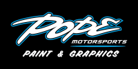 Pope Motorsports Paint & Graphics